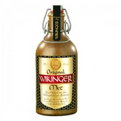 Wikinger Met in Tonflasche